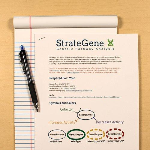 MTHFR Mutation? Find out your MTHFR status now with StrateGene